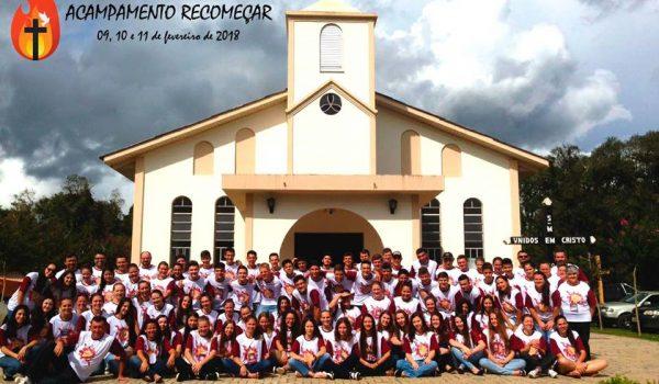 Primeiro Acampamento Recomeçar reúne jovens de Palmeira e região
