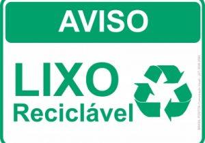 Atenção para mudança no horário da coleta de lixo reciclável