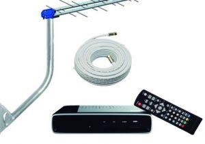 Continua a distribuição de kits gratuitos para TV digital