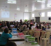 O encontro reuniu aproximadamente 170 pessoas de diversas comunidades da paróquia
