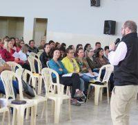 Durante o encontro foram escolhidos os representantes dos setores que formarão o grupo que coordenará a Catequese