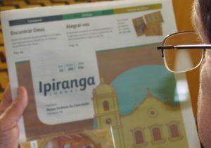 Jornal Ipiranga de fevereiro já está disponível nas comunidades