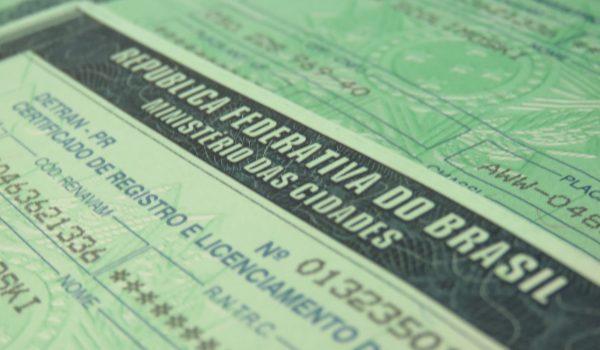 Licenciamentos que retornaram ao Detran por não ser entregues pelo Correio