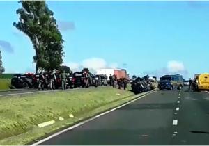 Tentativa de assalto a carros fortes deixa BR 376 interditada, em Palmeira