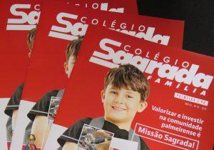 Lançamento da primeira revista Sagrada Família