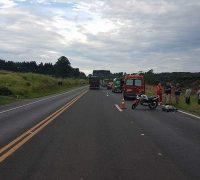 O acidente aconteceu na BR 277, Km 166, na localidade de Pugas