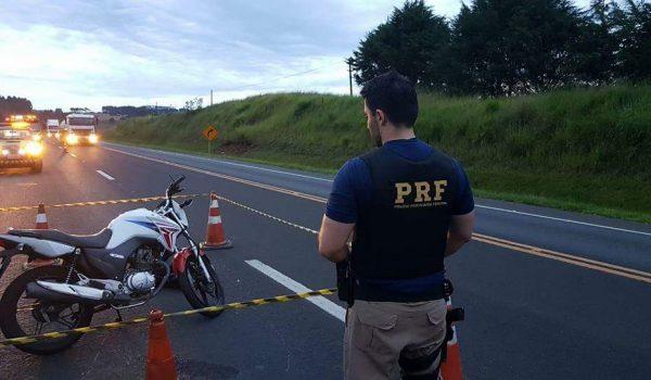 Motociclista morre após acidente na BR 277 em Palmeira