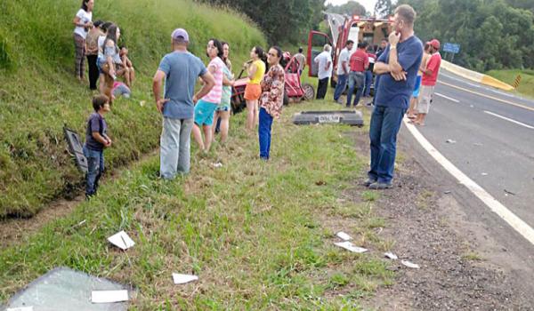 Acidente na BR 277 em Palmeira tem vítima fatal