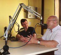 Dom Peruzzo esteve nos estúdios da Rádio Ipiranga.