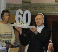 Irmã Maria José -60 anos de vida religiosa.
