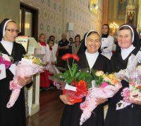 Missa de Ação de Graças pelas Irmãs Monica, Maria José e Beatriz.