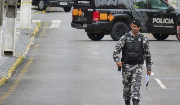 Polícia investiga relação de homicídio em Curitiba com assaltos em bancos de Palmeira