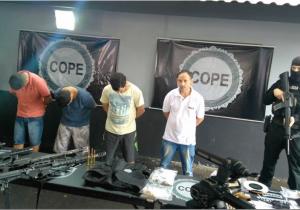 Polícia prende o principal articulador contra ataque a carros-fortes e bancos na região, inclusive de Palmeira