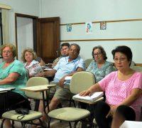 Diversos assuntos foram tratados na reunião que contou com a presença de 25 pessoas.