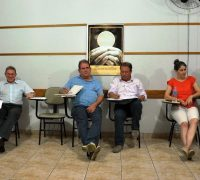 Coordenado do CPP Rubens Rogério Woinarovicz, e vice João José Robes (ao centro).