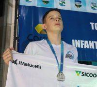 Luigi Maciel foi um dos três atletas palmeirenses que participou da competição