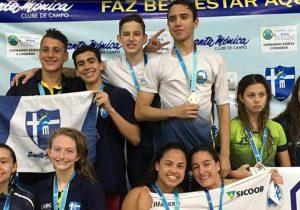 Atletas trazem 18 medalhas para Palmeira