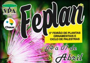 5º FEPLAN começa nesta quarta e prossegue até sábado (07)