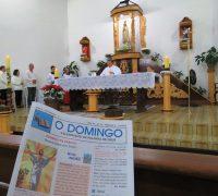 Missa de Páscoa na Igreja de Fátima