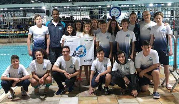 Palmeirenses conquistam medalhas em Torneio sul-brasileiro infanto-juvenil de natação