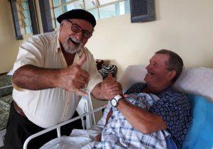Gaúcho da Fronteira visita o Lar Acelino e realiza o sonho de muitos senhores que vivem lá