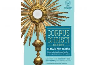 Corpus Christi em Palmeira será momento de fé e amor ao próximo