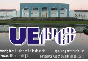 Inscrições para vestibular UEPG terminam em uma semana