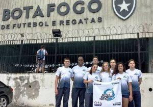 Palmeirenses disputaram Campeonato Brasileiro Interclubes Juvenil de Natação em Rio de Janeiro