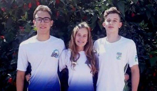 Palmeirenses participam de campeonato brasileiro de natação no Rio de Janeiro