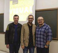 Elder Scolimoski (academico), João Geraldo Borges Jr (designer gráfico)e Rafael Kondlatsch (professor da Secal).