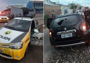 Policial palmeirense é baleado por assaltantes em Curitiba