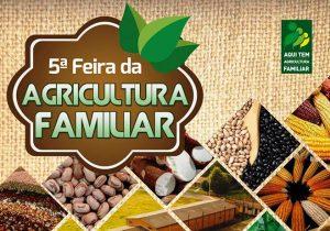 5ª edição da Feira da Agricultura Familiar acontece neste domingo (5)