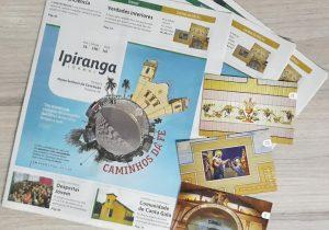 Jornal Ipiranga traz como destaque as distâncias das 48 comunidades da Paróquia