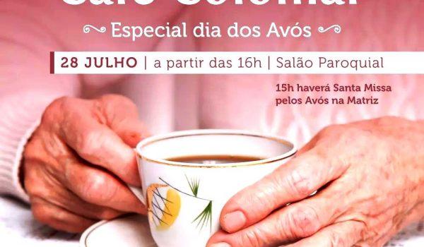 Mais de 30 itens estarão no café colonial especial dos avós