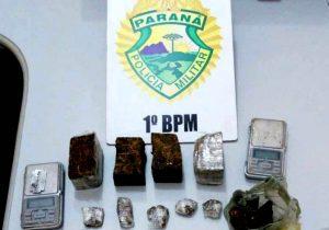 Polícia detém dois suspeitos por tráfico de drogas