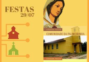 Vila Palmeirinha e Faxinal dos Quartins estão em festa