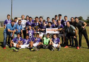 Futebol de Palmeira é campeão regional dos Jogos da Juventude e handebol conquista 3º lugar