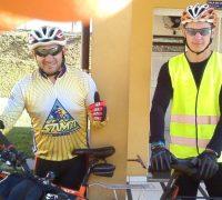 Marivaldo Assunção Coelho e Paulo Tutão  irão pela terceira vez vez até a Basílica de Nossa Senhora Aparecida de bicicleta.