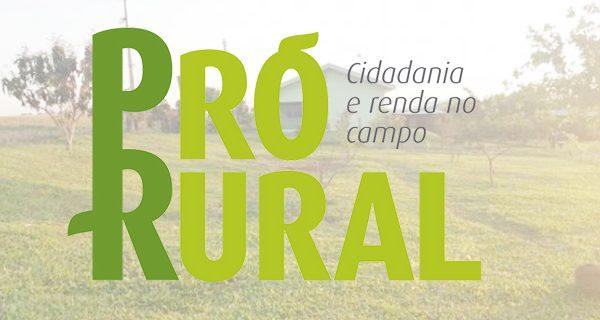 Cadastramentos para o programa Pró-Rural são realizados nesta semana