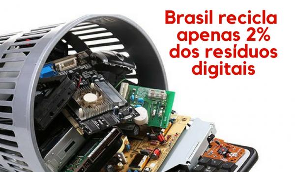 Brasileiro encontra dificuldade na destinação do lixo eletrônico