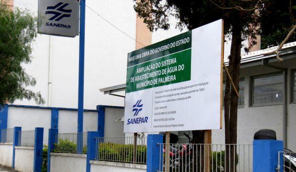 Sanepar pretende ampliar sistema de abastecimento no município