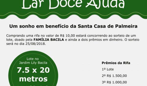 Santa Casa vai sortear um lote do Jardim Lili Bacila
