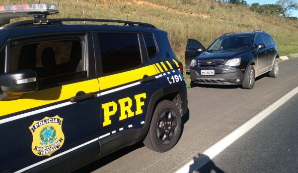 Mais um carro furtado é localizado em Palmeira