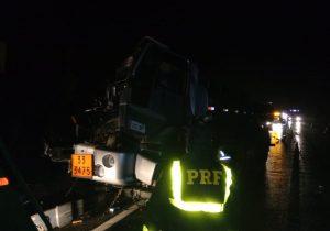 PRF atende acidente na BR 277 com vítima hospitalizada