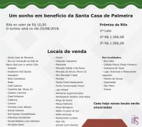 """Durante o evento será feito sorteio da promoção """"Lar Doce Ajuda"""", que tem como prêmio principal um lote no loteamento Lili Bacila."""