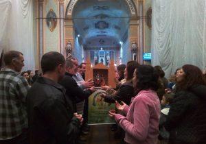 Paróquia recebe Imagem de Nossa Senhora do Desterro do E.C.C.