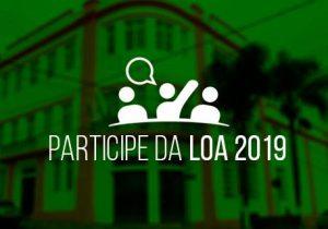 Apresentação da Lei Orçamentária Anual acontece nesta segunda-feira (27)