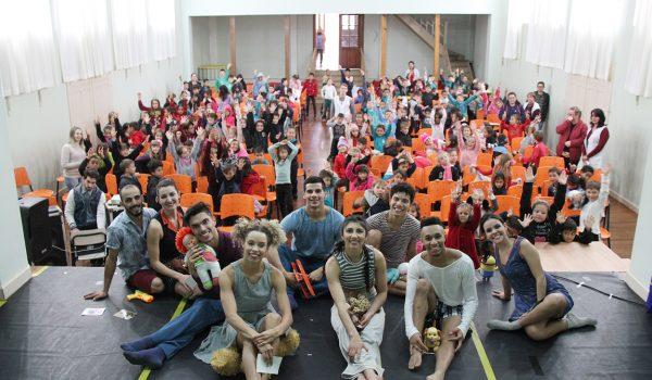 Espetáculos do Prêmio Arte Paraná são apresentados em Palmeira