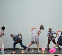 No dia 2 o auditório da Escola Integrada Imaculada Conceição Jesuíno Marcondes recebeu uma apresentação de dança em 'Memórias de Brinquedo'