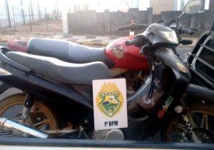 Polícia localiza duas motos adulteradas em área rural de Palmeira
